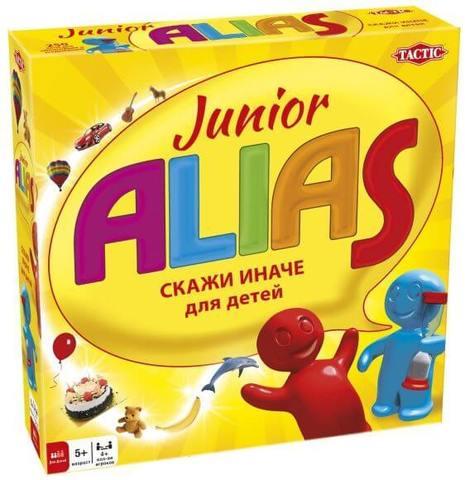Настольная игра ALIAS Junior (Элиас Скажи иначе - 2)