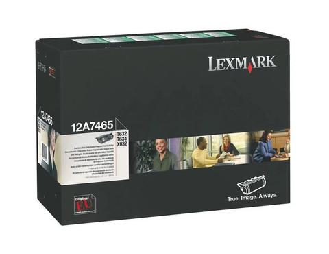 Картридж Lexmark 12A7465 черный