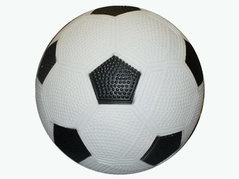 Мячик надувной футбольный. Диаметр 14 см. :(14-Ф):