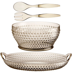 LUX GOLD SALAD BOWL AND TRAY PACK