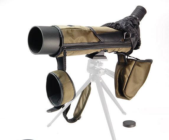 Труба Veber Snipe 15-45x65 на штативе в многофункциональном чехле