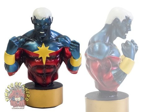 Captain Marvel (Modern Variant) Mini Bust by Bowen Designs