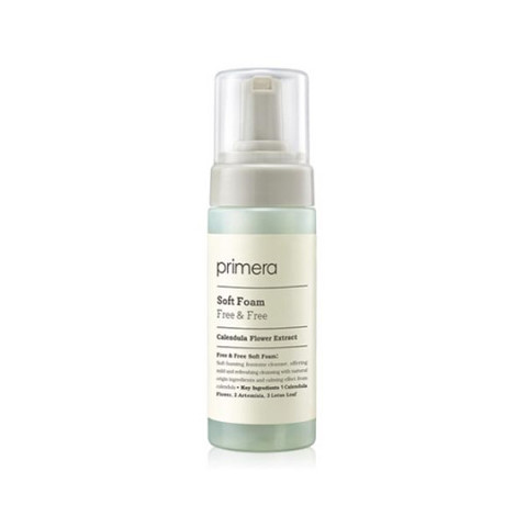 Очищающая пенка primera Free & Free Soft Foam 150ml