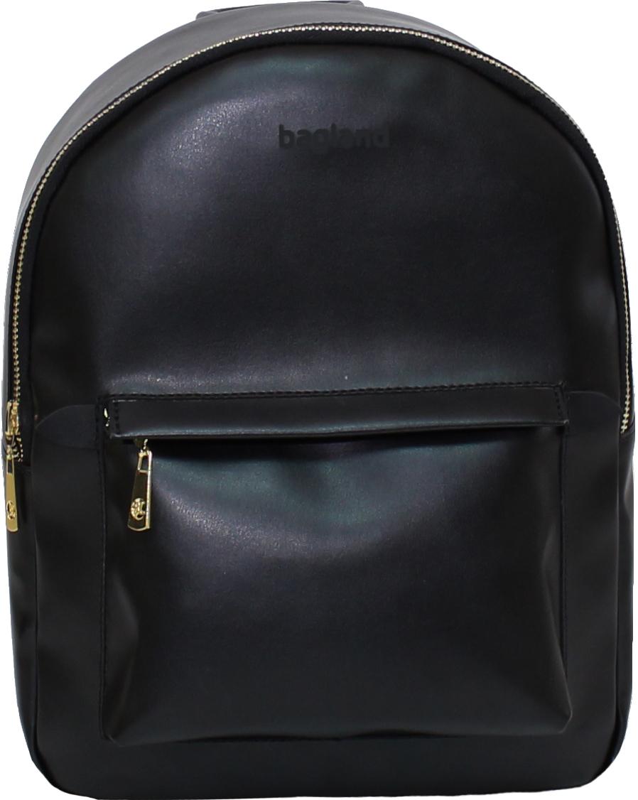 Городские рюкзаки Рюкзак Bagland Linda 6 л. Чёрный (0014096) IMG_8806.JPG