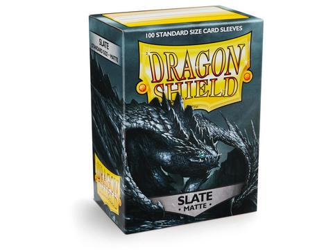 Протекторы Dragon Shield матовые Slate (100 шт.)