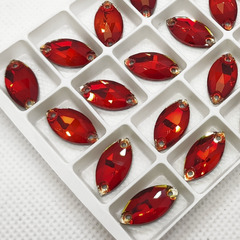 Стразы пришивные Light Siam светло-красные купить в Москве