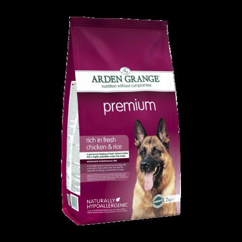 Arden Grange Premium Сухой корм для взрослых собак Премиум