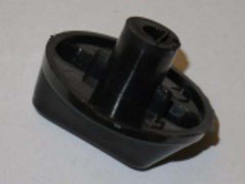Ручка для плиты без цифр черная универсальная