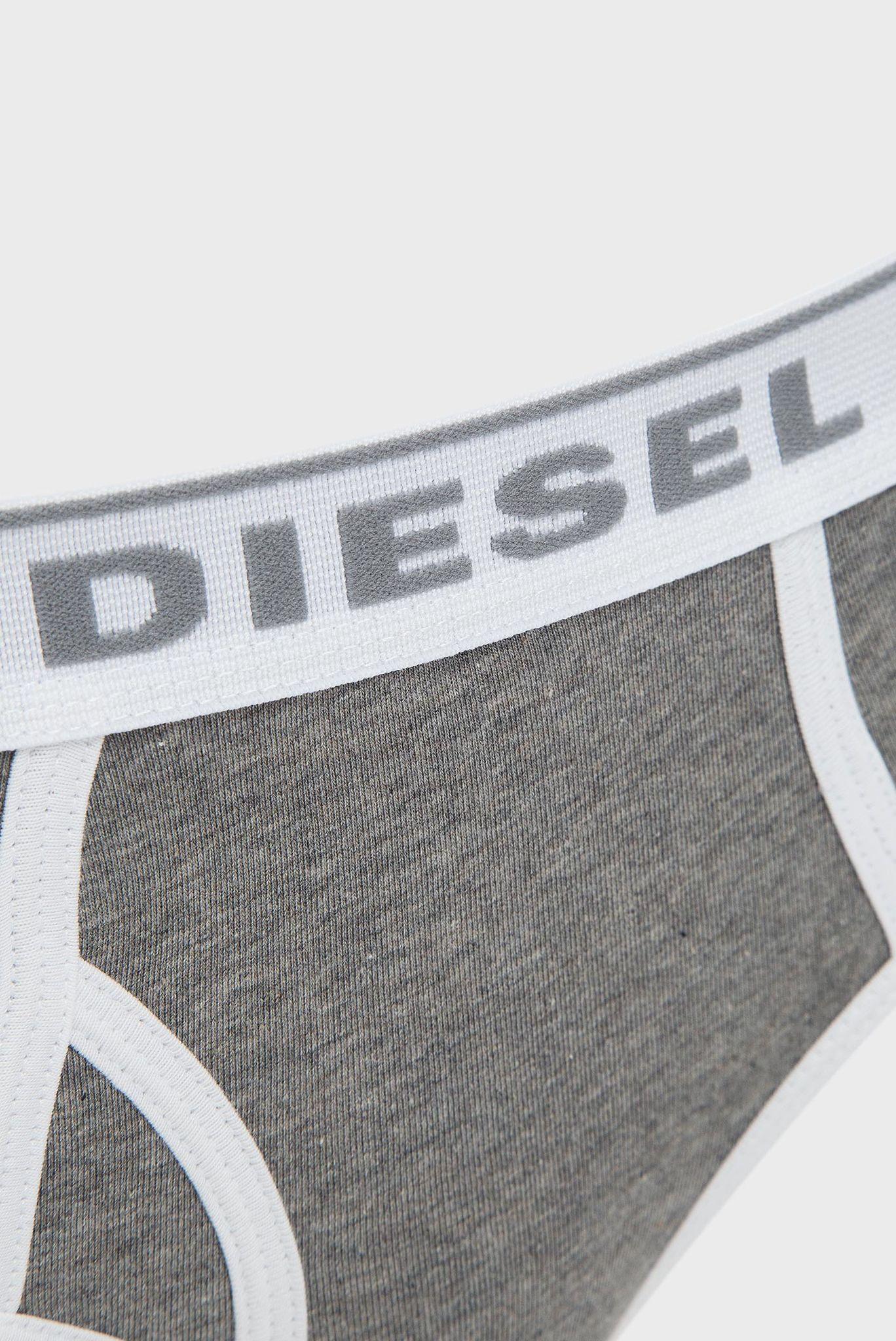 Женские серые трусики Diesel
