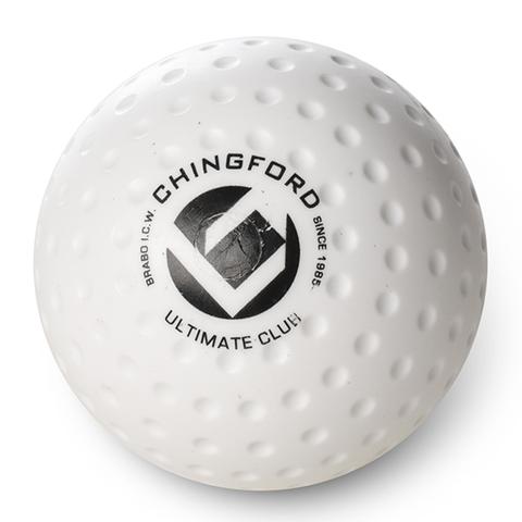 Мяч для хоккея на траве Brabo BB1020 Chingford Club Dimple White