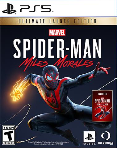 PS5 MARVEL Человек-Паук: Майлз Моралес Ultimate Edition (русская версия)