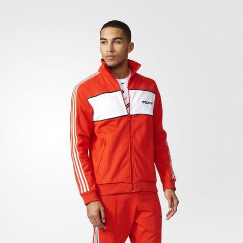 Олимпийка мужская adidas ORIGINALS BLOCKTRACK TOP