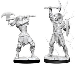 D&D Nolzur's Marvelous Miniatures - Female Goliath Barbarian