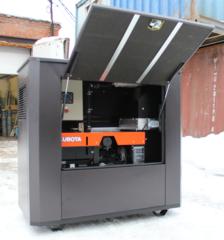 Всепогодный шумозащитный кожух SB1800 для дизельных генераторов