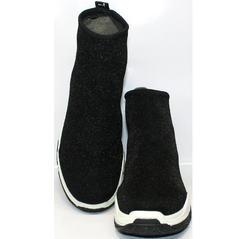 Кроссовки в виде носков Seastar LA33 Black.