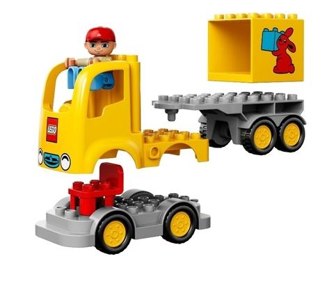 LEGO Duplo: Желтый грузовик 10601 — Delivery Vehicle — Лего Дупло