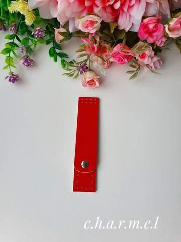 Застежка для сумки Красный