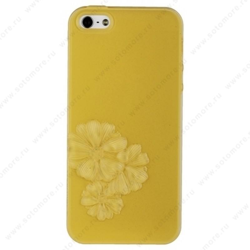Накладка SwitchEasy для iPhone SE/ 5s/ 5C/ 5 желтая