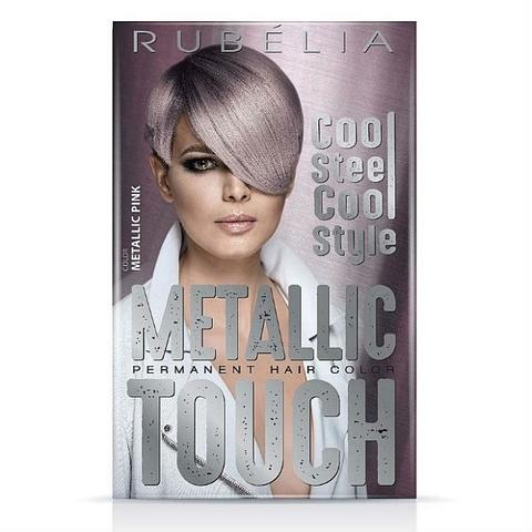Краска для волос rubella metallic touch, Pink (Розовый)