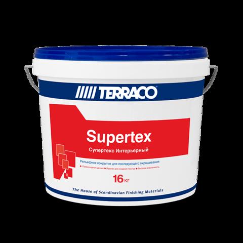 Terraco Supertex Interior/Террако Супертекс Интерьерный готовое к применению пастообразное покрытие для внутренних работ