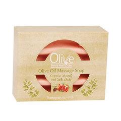 Массажное оливковое мыло с маслом граната Olive Beauty Medi Care 100 гр