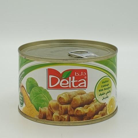 Фаршированные листья капусты с крупой булгур Delta, 375 гр