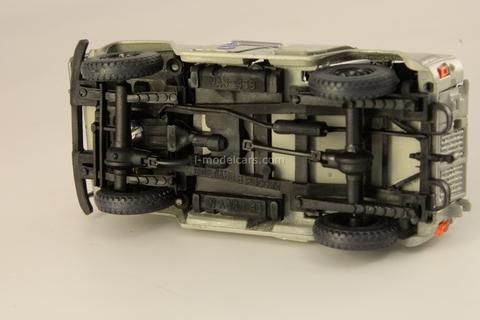 UAZ-469 Buggy grey 1:43 Agat Mossar Tantal
