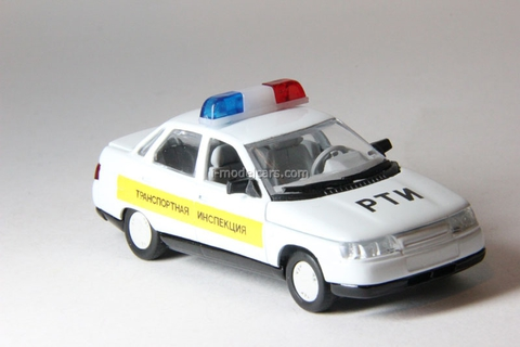 VAZ-2110 Lada Transport inspection Agat Mossar Tantal 1:43