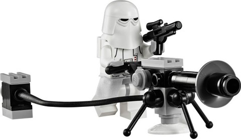 LEGO Star Wars: Снеговой спидер 75049 — Snowspeeder — Лего Звездные войны Стар