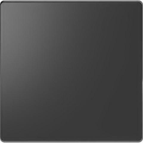 Выключатель одноклавишный. Цвет Антрацит. Merten D-Life System Design. MTN3111-0000+MTN3300-6034