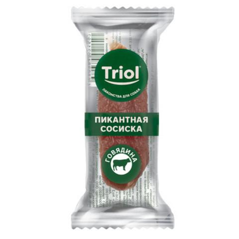 Triol пикантные сосиски из говядина (1 штука)