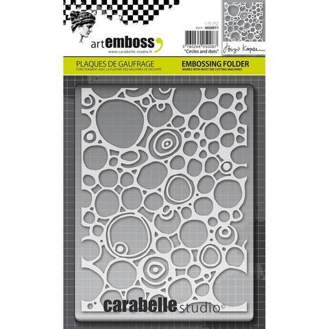 Папка для тиснения Carabelle Studio Embossing Folder-  Circles & Dots