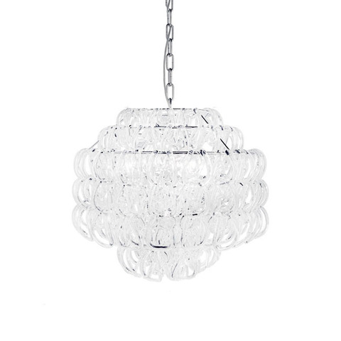 Подвесной светильник Giogali SP 50 by Vistosi (белый)