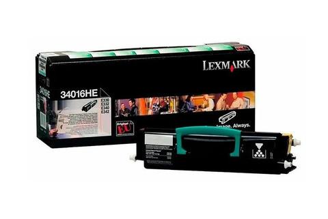 Картридж Lexmark 34016HE черный