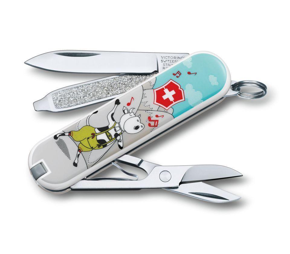 Нож-брелок Victorinox Classic Yodelay-Hee-Moo (0.6223.L1504)