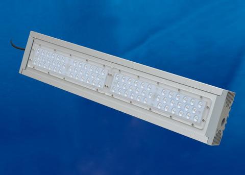 ULV-R24J-120W/5000К IP65 SILVER Светильник светодиодный уличный консольный. Белый свет (5000К). Угол 150x40 градусов. TM Uniel.