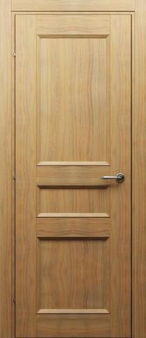 Дверь 3043 (орех бискотто, глухая CPL), фабрика Краснодеревщик