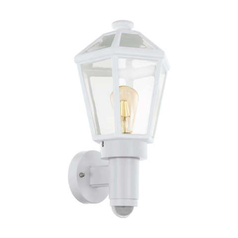 Уличный светильник с датчиком движения и с сенсором DAY & NIGHT Eglo MONSELICE 97256
