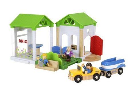 BRIO 33953 Набор к деревянной железной дороге