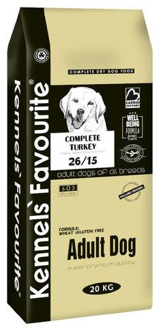 Kennels` Favourite Adult Dog Для взрослых собак 20 кг.