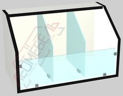 Витрина для конфет  (для стеллажей шириной на 600 мм )