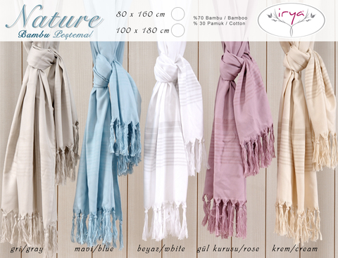 Nature бамбуковое полотенце / IRYA (Турция)