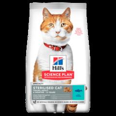 Корм для стерилизованных кошек Hill`s Science Plan Sterilised Cat Young Adult, с тунцом