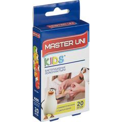 Набор пластырей Master Uni Детский (20 штук в упаковке)