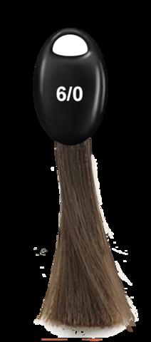 OLLIN N-JOY  6/0 – темно-русый, перманентная крем-краска для волос 100мл