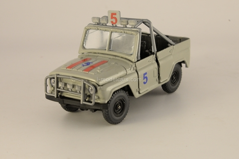 UAZ-469 Buggy grey 1:43 Agat Mossar Tantal