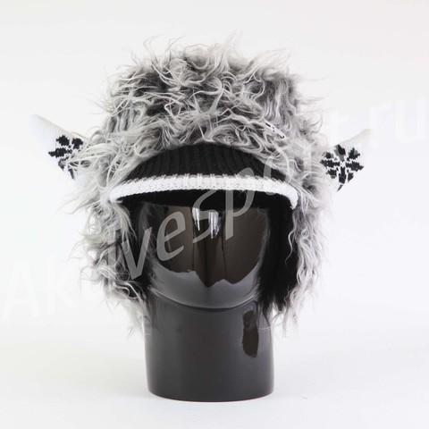 Картинка шапка с ушами Eisbar power horn 406