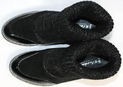 Туфли женские на низком ходу Kluchini 5161 k255 Black
