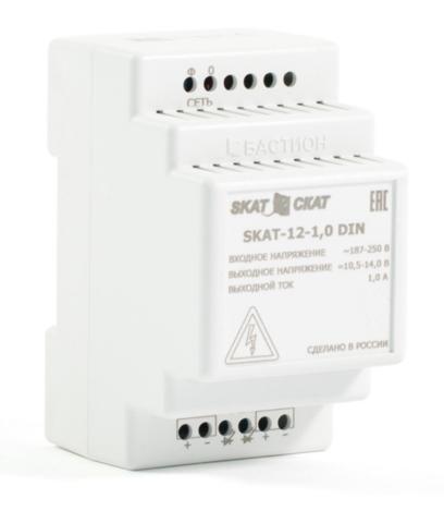 Источник вторичного электропитания SKAT-12-1.0-DIN