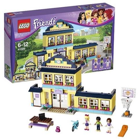 LEGO Friends: Школа Хартлейк сити 41005 — Heartlake High — Лего Френдз Друзья Подружки